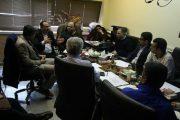 گزارش تصویری برگزاری جلسه کمیته فنی پروژه تراموا