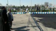 عملیات روکش آسفالت صحن ورودی گلزار شهدای رشت به مناسبت روز بزرگداشت شهدا اجرایی شد
