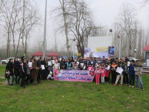 برگزاری مسابقه دومیدانی، طرح پلاکگذاری درختان و پاکسازی طبیعت از زباله در پارکساحلی جنگلی آستانهاشرفیه / تصاویر