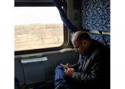 حرکت اولین قطار تهران به رشت با حضور نماینده سابق لاهیجان و سیاهکل