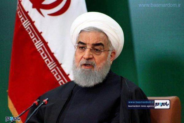 روحانی 1 600x400 - برجام تضعیف شده هم سیاست خارجی آمریکا را متزلزل کرده است/ رقم بیکاری کاهش یافته است/ شرایط کاملاً برعکس تصور بدخواهان رقم خورده است