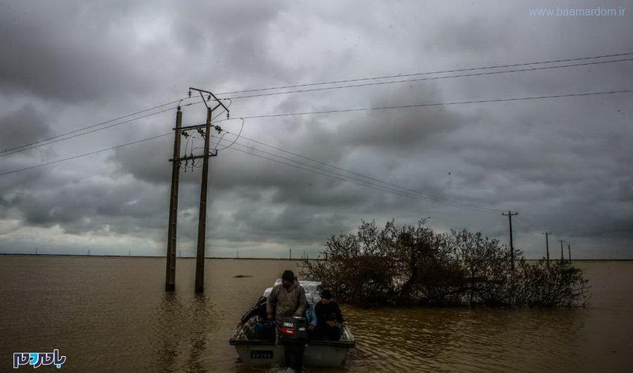 ۳۰ غواص از گیلان عازم مناطق سیل زده شدند
