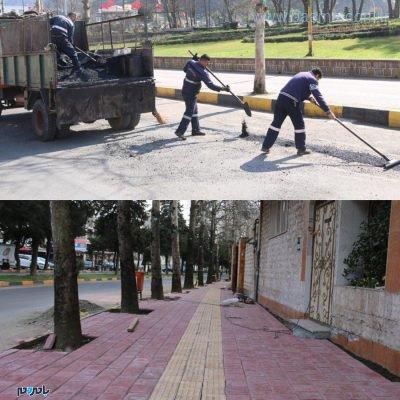شهرداری لاهیجان، آماده استقبال از نوروز 98 4 400x400 - شهرداری لاهیجان، آماده استقبال از نوروز 98 است