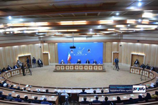 گزارش تصویری جلسه شورای اداری گیلان با حضور ریاست جمهوری