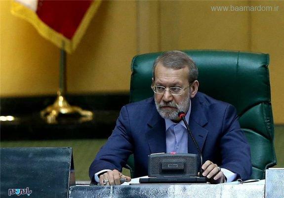 لاریجانی 575x400 - نماینده نزدیک به پایداریها تنها ۹ رای کسب کرد/ لاریجانی برای دوازدهمین سال پیاپی رئیس مجلس شد