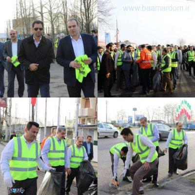 معابر شهر لاهیجان در آستانه سال نو از زباله پاکسازی شد 5 400x400 - معابر شهر لاهیجان در آستانه سال نو از زباله پاکسازی شد