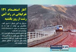 آغاز استخدام ۱۳۱ نفرگیلانی در راه آهن رشت از روز یکشنبه