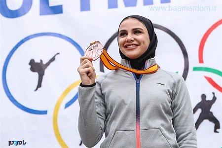سهمیه قطعی المپیک سارا بهمنیار باطل شد/ کاراته کای گیلانی به مراکش می رود