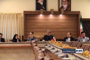 گزارش تصویری نشست فرماندار لاهیجان و مدیرکل فرهنگ و ارشاد اسلامی با اصحاب رسانه