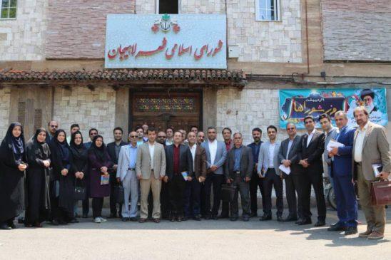 گزارش تصویری نشست خبری مدیریت شهری لاهیجان با اصحاب رسانه