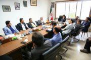 برگزاری جلسه بررسی موضوع واسپاری خدمات رفتوروب و فضایسبز به مناطق شهرداری رشت / تصاویر