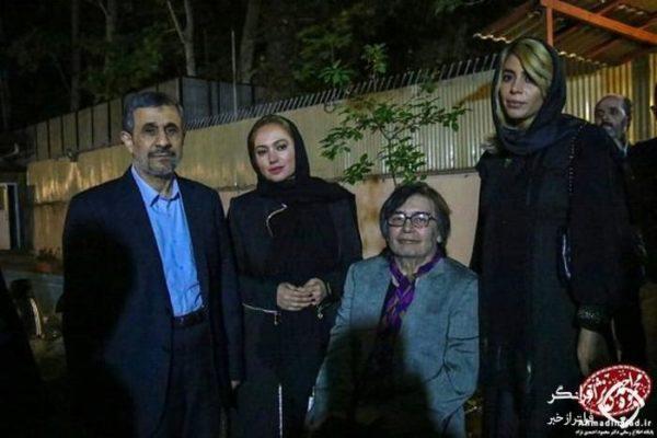 4 سلبریتی احمدی نژاد را سورپرایز کردند 600x400 - این 4 سلبریتی احمدی نژاد را سورپرایز کردند + عکس