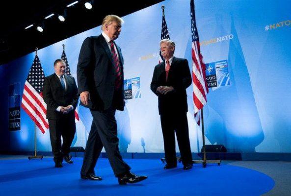 1 593x400 - ترامپ به خاطر افزایش تنش با ایران از دست مشاورانش عصبانی است
