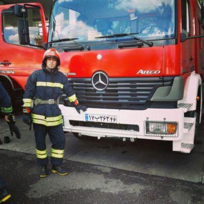 جواد پیروی 1 400x400 - آتشنشان و هیمالیانورد شهر باران، بدون حامی / وی سریعاً نیازمند حمایت است