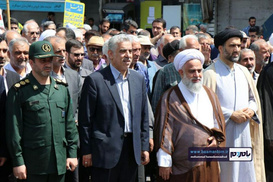 راهپیمایی روز قدس در رحیم آباد رودسر 11 - گزارش تصویری راهپیمایی روز قدس در رودسر