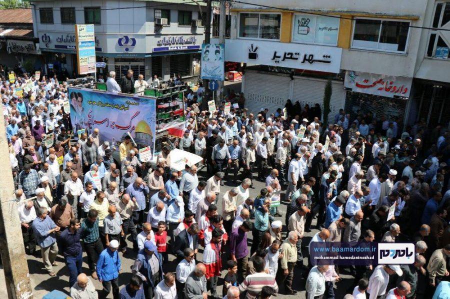 راهپیمایی روز قدس در رحیم آباد رودسر 12 - گزارش تصویری راهپیمایی روز قدس در رودسر