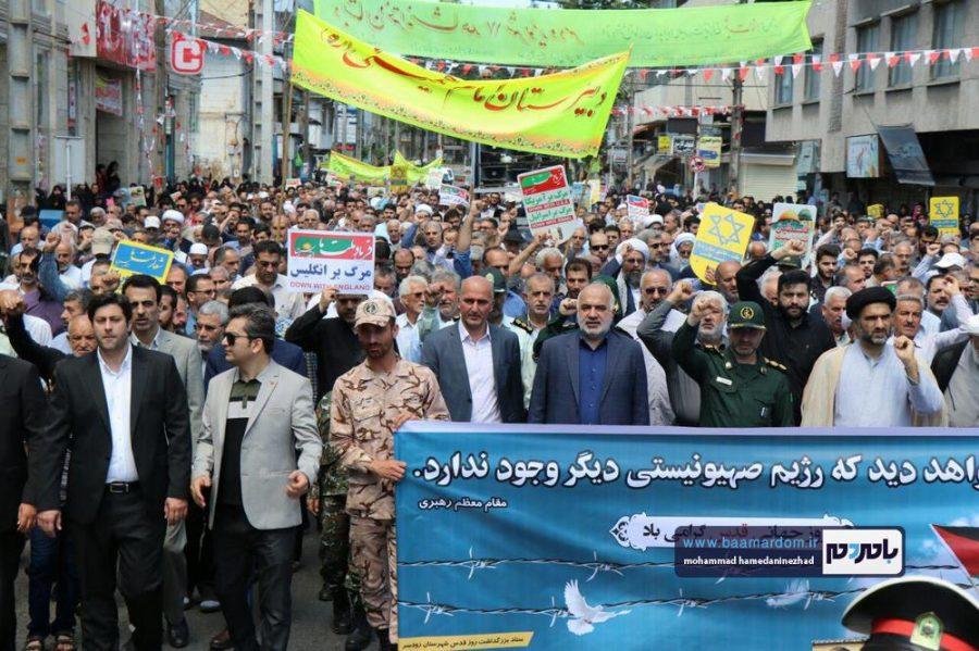 راهپیمایی روز قدس در رحیم آباد رودسر 13 - گزارش تصویری راهپیمایی روز قدس در رودسر