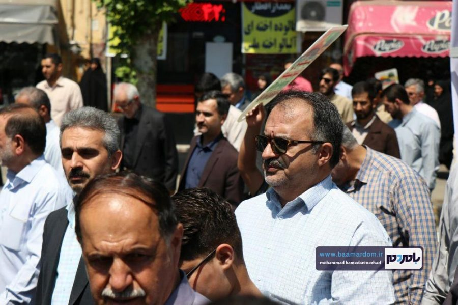 راهپیمایی روز قدس در رحیم آباد رودسر 2 1 - گزارش تصویری راهپیمایی روز قدس در رودسر