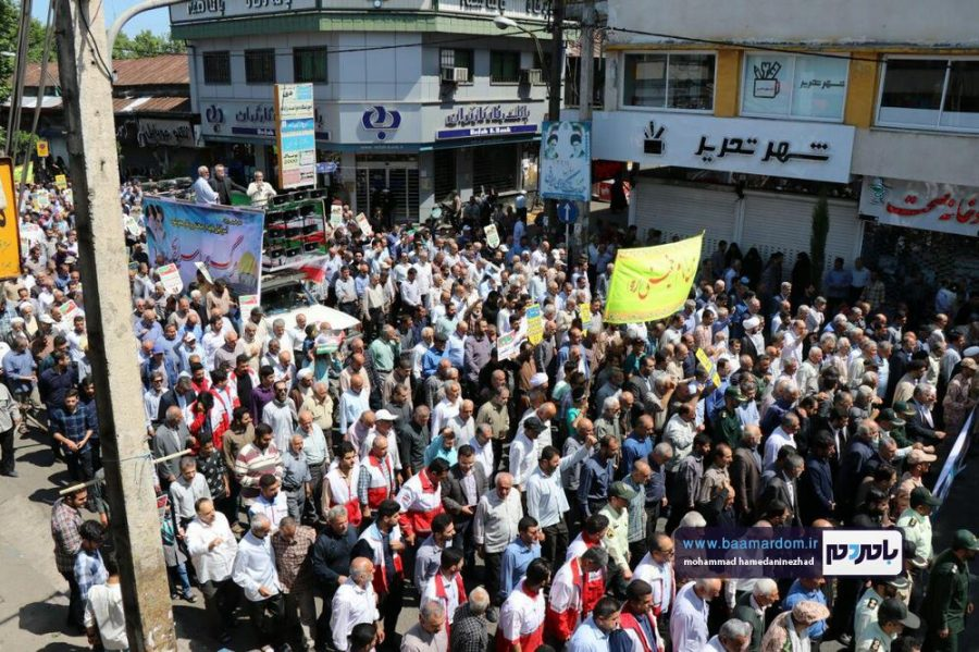 راهپیمایی روز قدس در رحیم آباد رودسر 4 1 - گزارش تصویری راهپیمایی روز قدس در رودسر