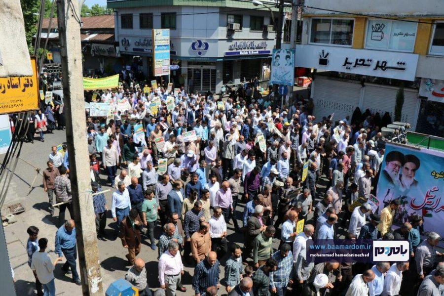 راهپیمایی روز قدس در رحیم آباد رودسر 5 1 - گزارش تصویری راهپیمایی روز قدس در رودسر