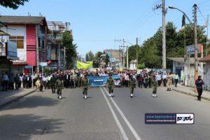 گزارش تصویری راهپیمایی روز قدس در رودسر