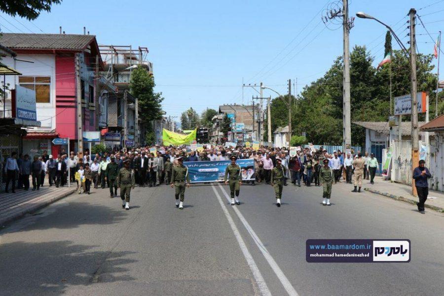 راهپیمایی روز قدس در رحیم آباد رودسر 8 1 - گزارش تصویری راهپیمایی روز قدس در رودسر
