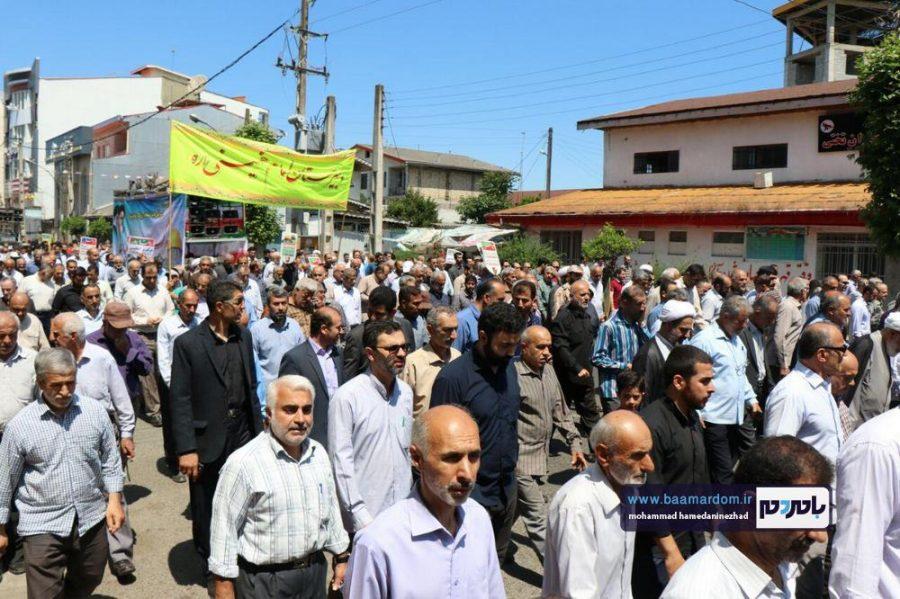 راهپیمایی روز قدس در رحیم آباد رودسر 9 - گزارش تصویری راهپیمایی روز قدس در رودسر