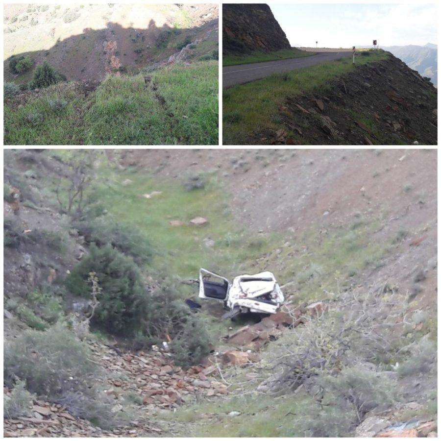 سقوط سواری ۲۰۶ به دره محور جیرنده – لوشان