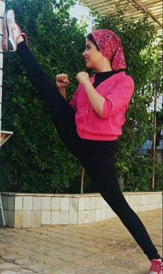 مائده رضائی عضو تیم ملی مویتای ایران 3 239x400 - آمادگی بدنی بینظیر دختر ملیپوش ایرانی + تصاویر