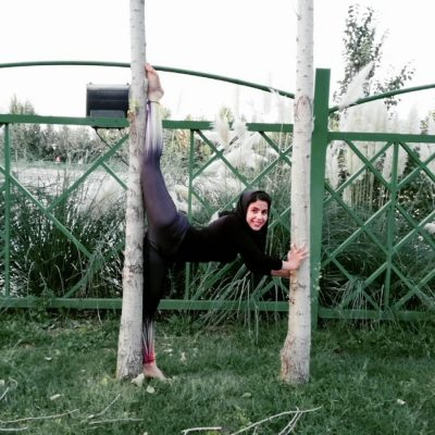 مائده رضائی عضو تیم ملی مویتای ایران 5 400x400 - آمادگی بدنی بینظیر دختر ملیپوش ایرانی + تصاویر