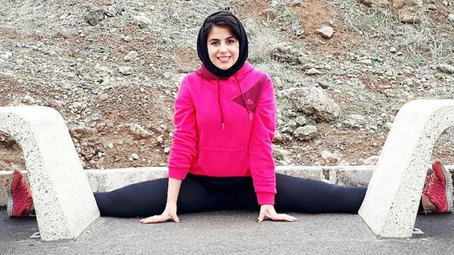 آمادگی بدنی بینظیر دختر ملیپوش ایرانی + تصاویر