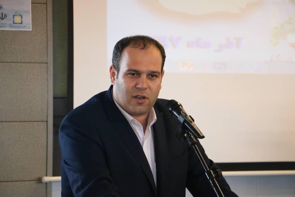 تجلیل از شهردار لاهیجان در هشتمین جشنواره ملی تلاشگران کشور