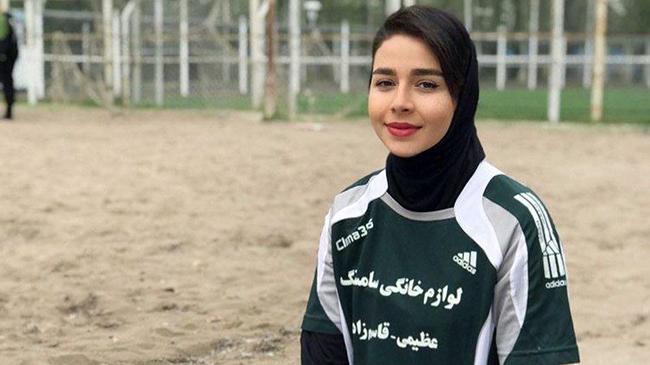 آشنایی با زیباترین فوتبالیست بانوی ایران + عکس