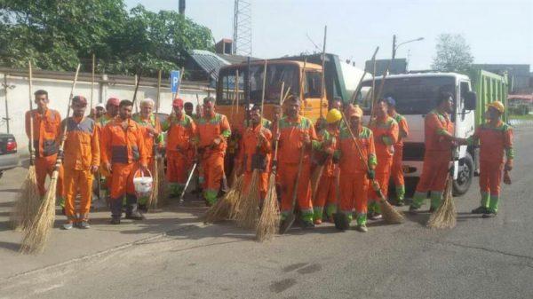 photo 2019 05 25 13 29 12 600x337 - هفته چهارم از پاکسازی محلات نواحی ۱۵ گانه شهرداری رشت برگزار شد