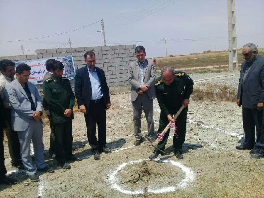 آغاز ساخت واحدهای مسکونی سیلزده استان گلستان + تصاویر