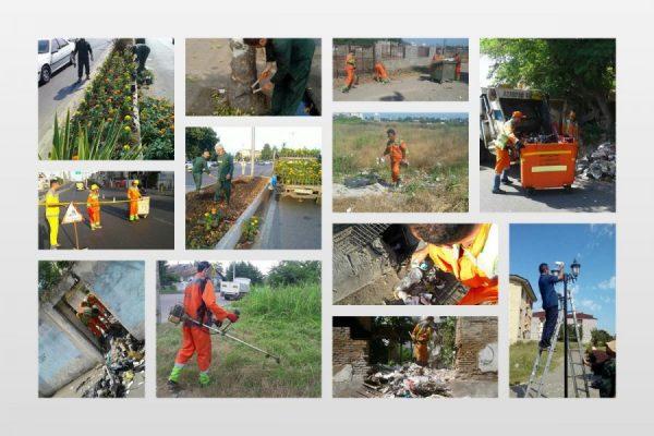 اجرای طرح پاکسازی هفتگی محلات شهر رشت 600x400 - ادامه اجرای طرح پاکسازی هفتگی محلات شهر رشت
