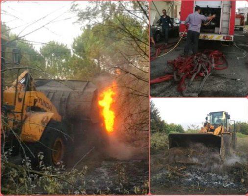 آتشسوزی در منطقه جنگلی «لله رود» رودسر 506x400 - اطفاء آتشسوزی در منطقه جنگلی «لله رود» رودسر