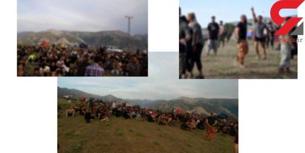 تور گردشگری آمل 600x302 - راز چادرهای مختلط دخترها و پسرها در آمل / بازداشت 10 زن و مرد که لیدر تورهای پلید بودند