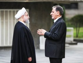 تصویر معنادار روحانی روبروی جهانگیری / ماجرای دعوا و قهر چه بود؟ + عکس