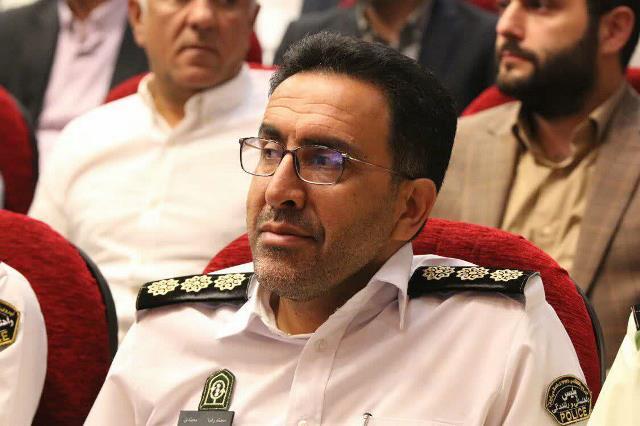 محمدرضا محمدی - گزارش تصویری مراسم معارفه شهردار رشت و تودیع سرپرست و شهردار سابق رشت