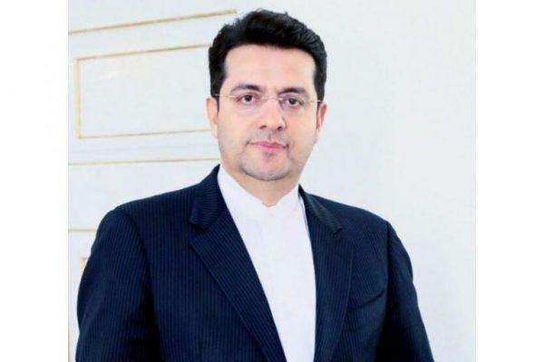 عباس موسوی 600x400 - واکنش سخنگوی وزارت خارجه به تحریم رهبری و «ظریف» از سوی آمریکا