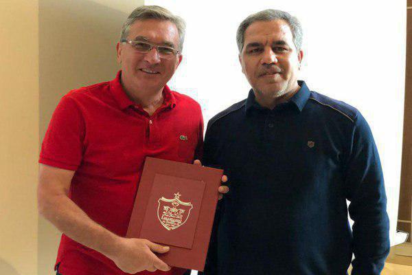 مدیرعامل باشگاه پرسپولیس و برانکو - واکنش مدیرعامل باشگاه پرسپولیس به نامه فسخ قرارداد برانکو
