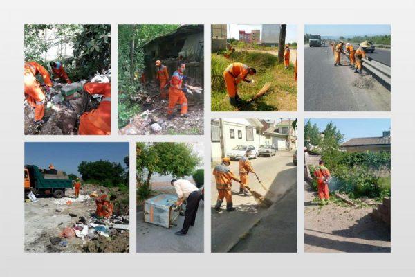 هشتم پاکسازی محلات شهر رشت 600x400 - اجرای هفته هشتم پاکسازی محلات شهر رشت