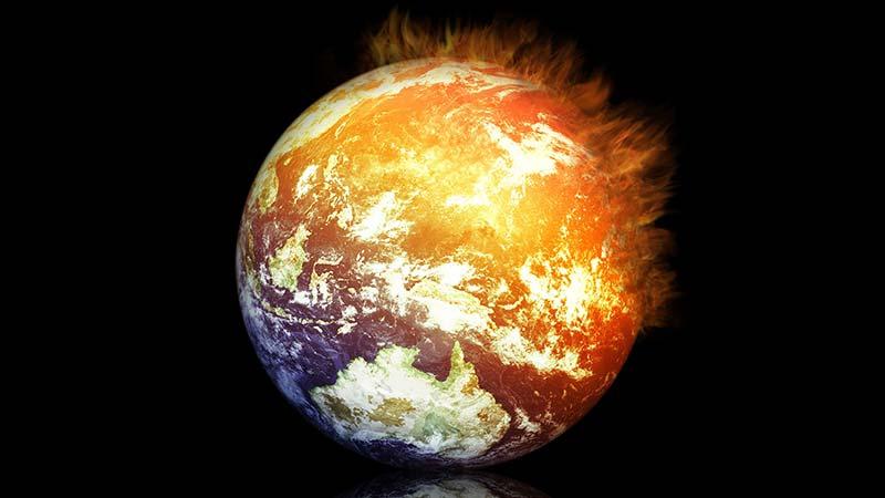 بهزودی کره زمین ذوب میشود