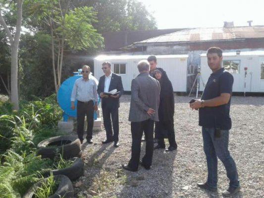 photo 2019 06 25 06 12 12 533x400 - بازدید شهردار رشت از پروژه دیواره سازی حریم رودخانه در رودبارتان منطقه دو شهرداری