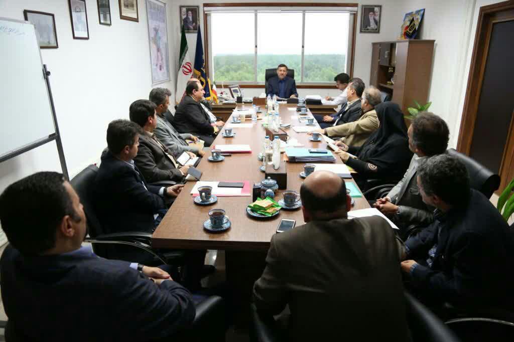 اداری شهرداری رشت 1 - گزارش تصویری جلسه شورای اداری شهرداری رشت