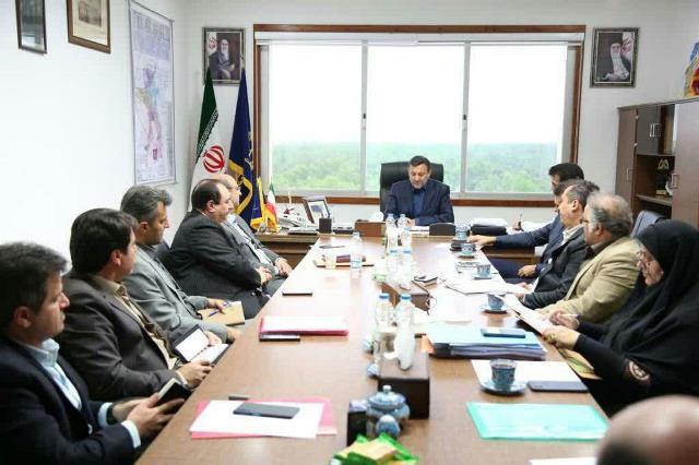 اداری شهرداری رشت 16 - گزارش تصویری جلسه شورای اداری شهرداری رشت
