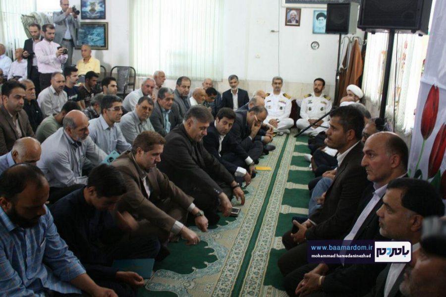 سالگرد شهید انصاری تنها استاندار شهید کشور در رودسر 5 - گزارش تصویری مراسم سالگرد شهید انصاری تنها استاندار شهید کشور در رودسر