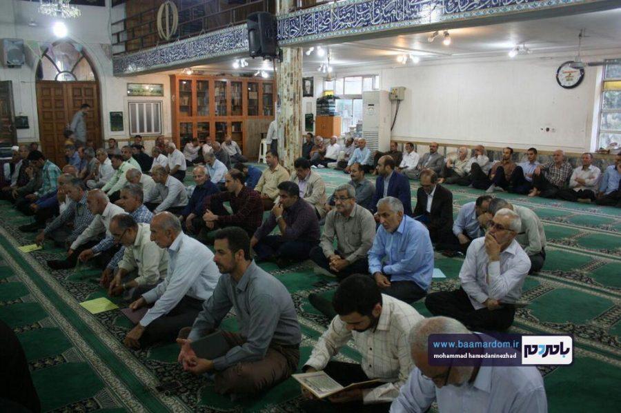 گزارش تصویری مراسم سالگرد شهید انصاری و شهید علیرضا نورانی در لنگرود