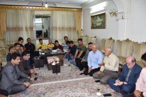 گزارش تصویری نشست صمیمی نماینده شهرستان لنگرود با جمعی از جوانان